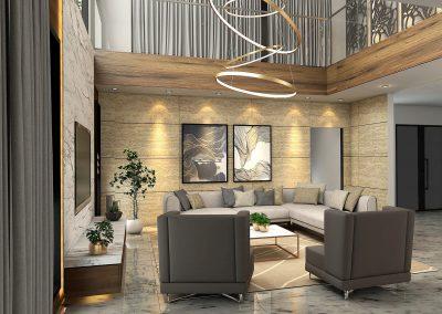 Living Area 2.Denoiser